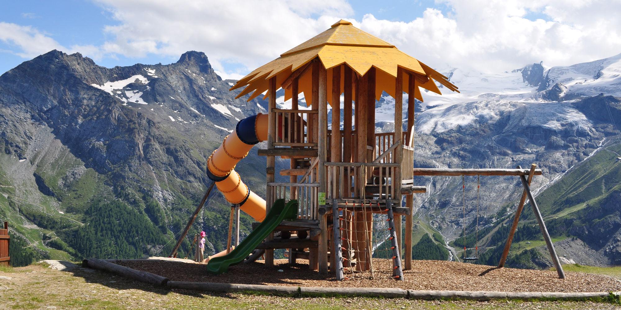 Spielplätze in der Freien Ferienrepublik Saas-Fee