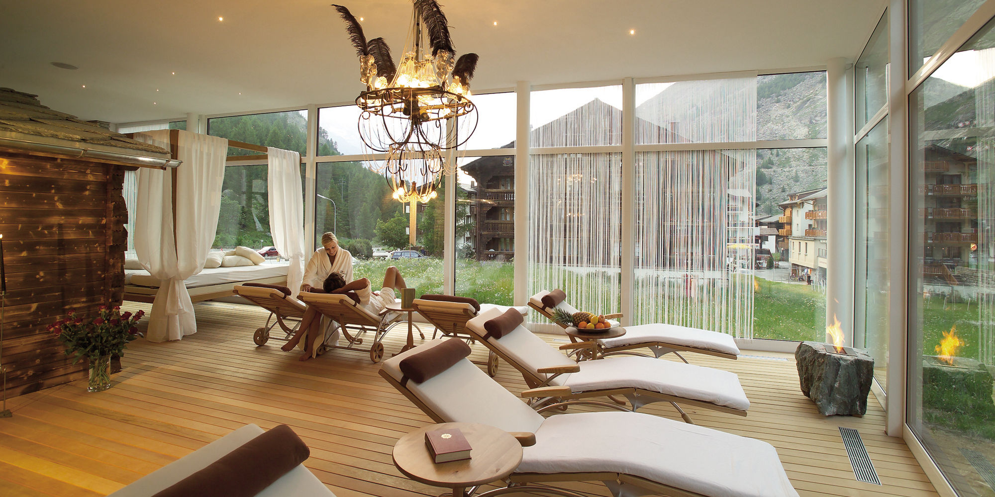 Wellness & Spa Pirmin Zurbriggen in the Free Republic of Holidays Saas-Fee