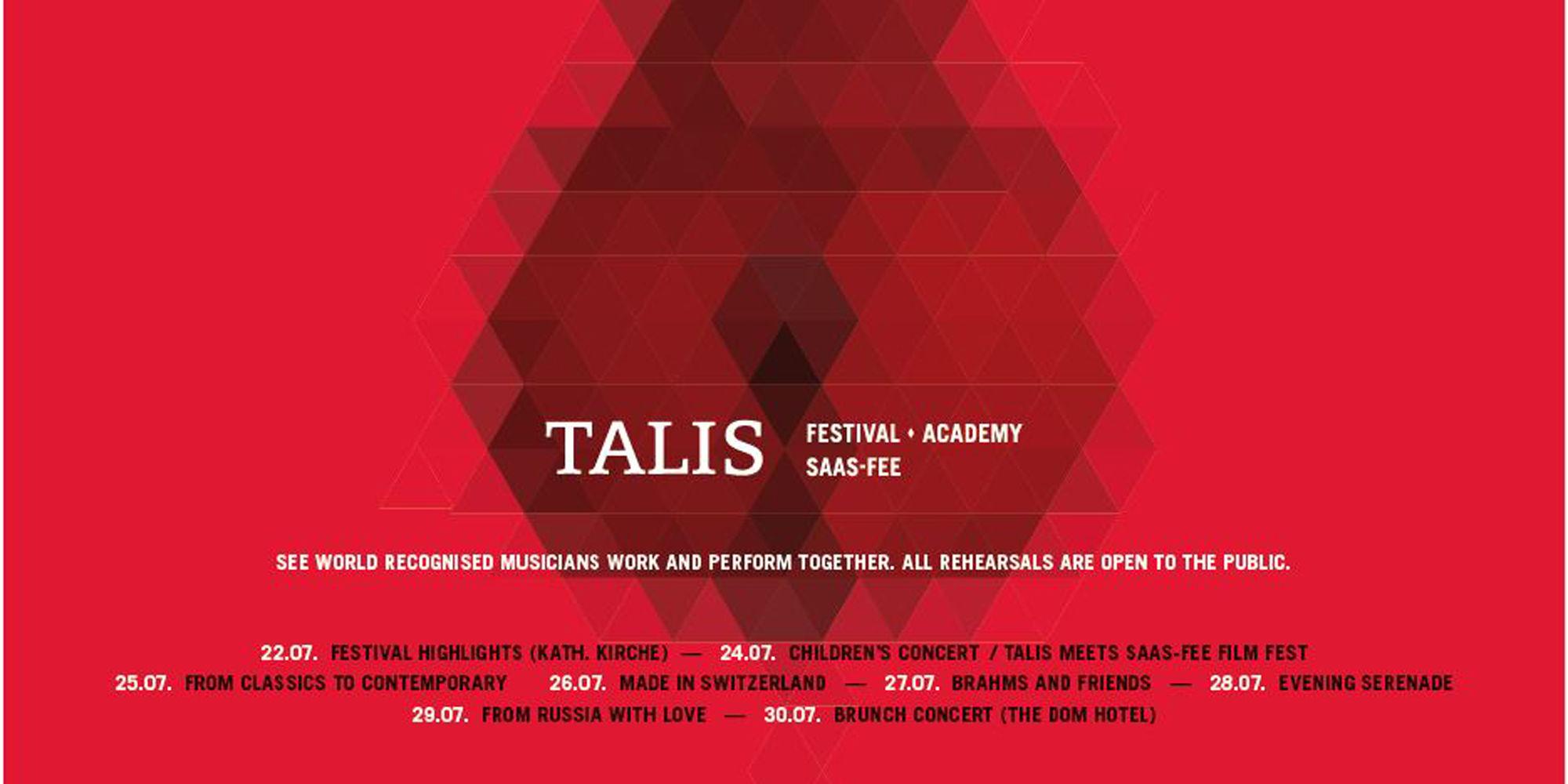 Talis Festival & Academy Saas-Fee