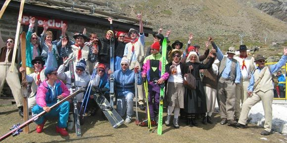 Easter Festival with Nostalgic Races in the Free Republic of Holidays Saas-Fee