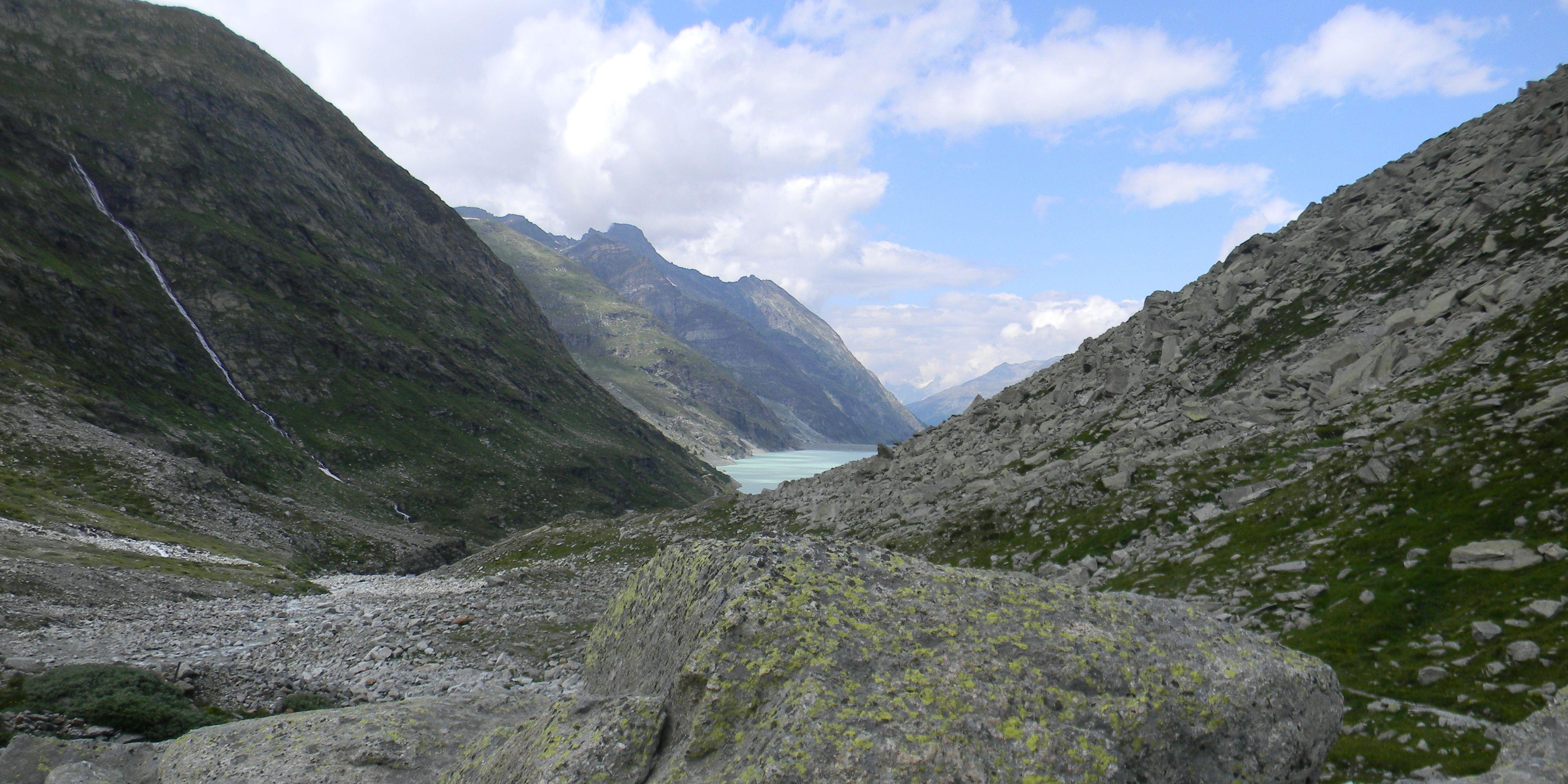 Tour Monte Rosa - Mattmark Lake