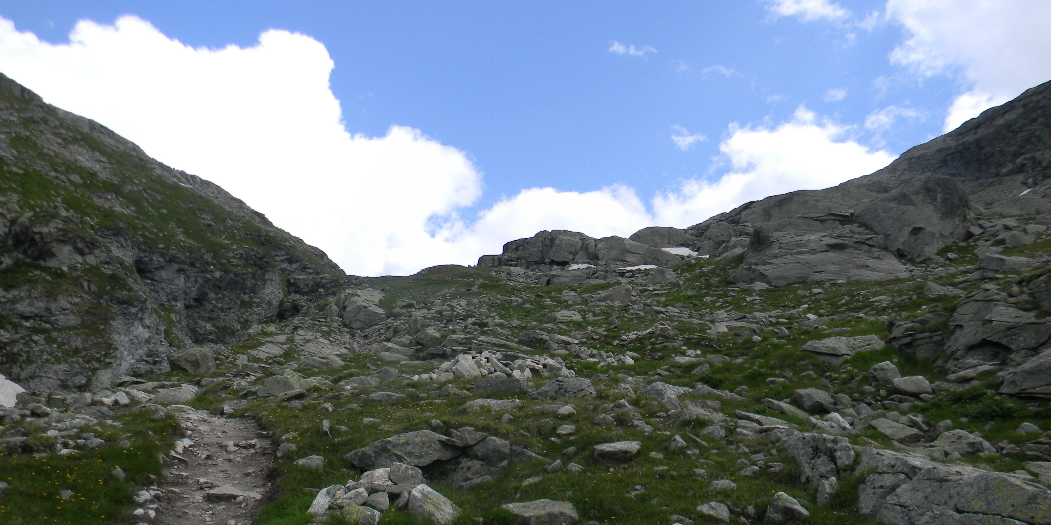 Tour Monte Rosa - Zum Pass