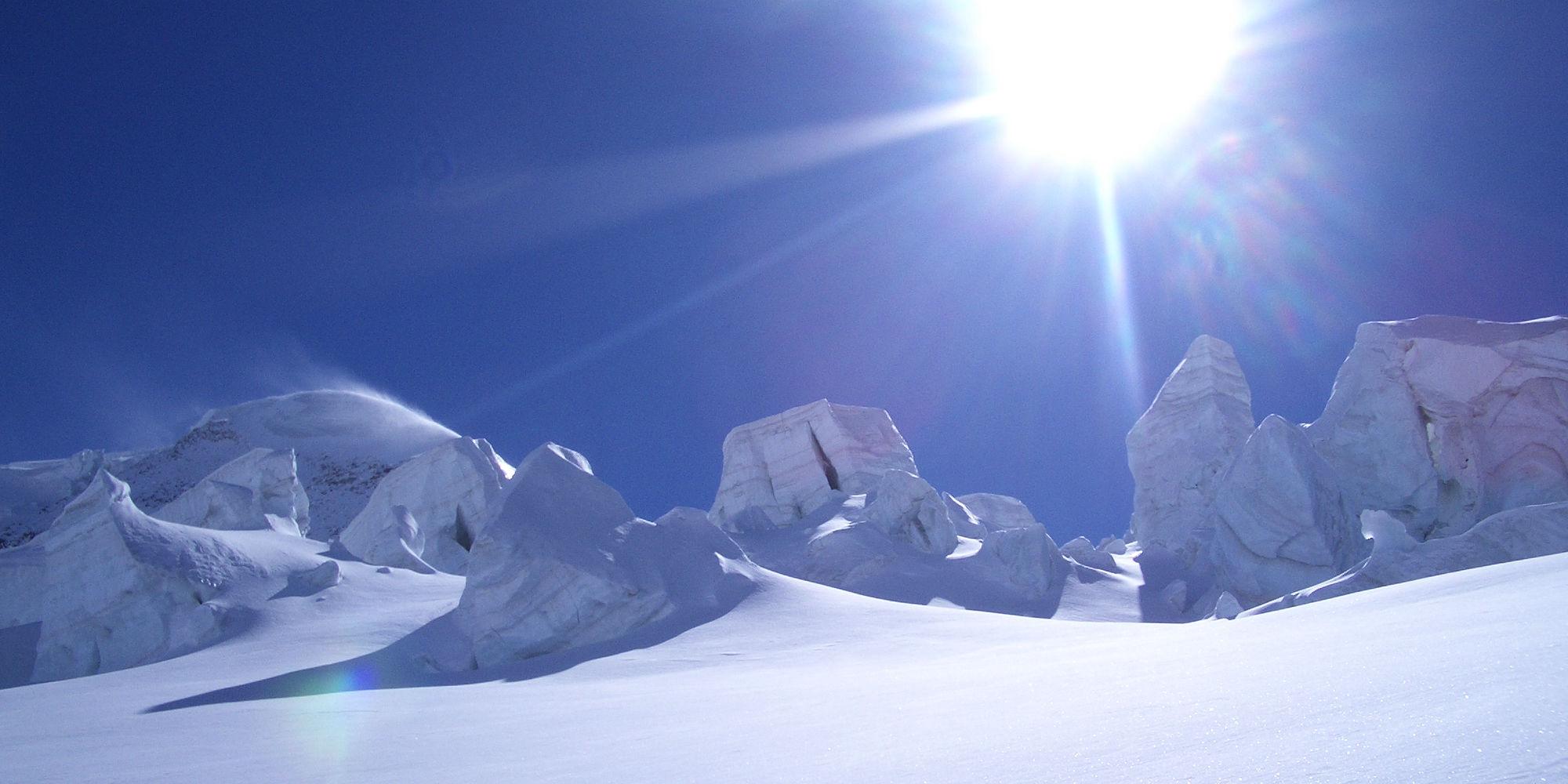 Serac Gletschertour in der Freien Ferienrepublik Saas-Fee