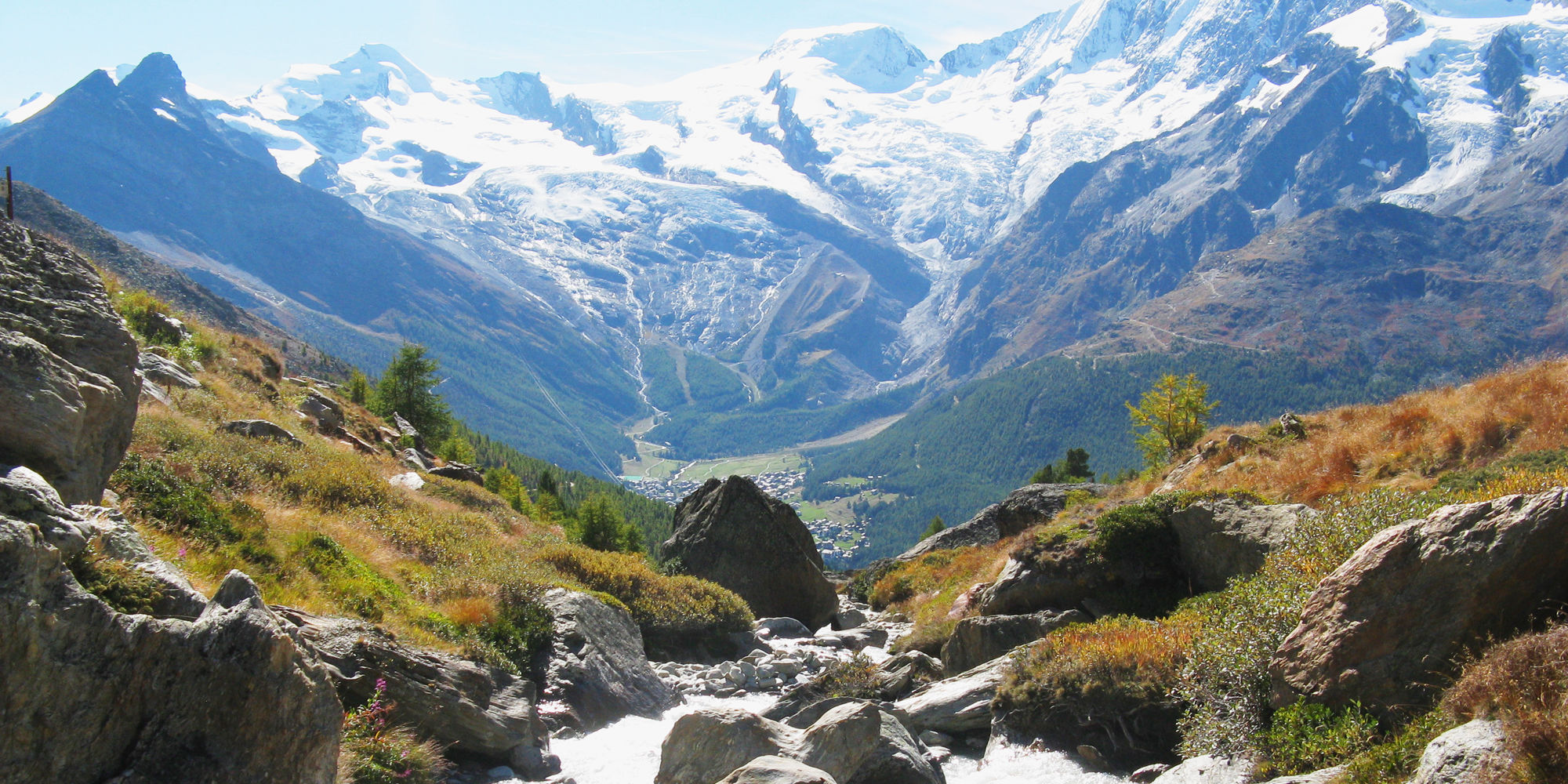 reuzboden Wellness and Pleasure Trail in the Free Republic of Holidays Saas-Fee