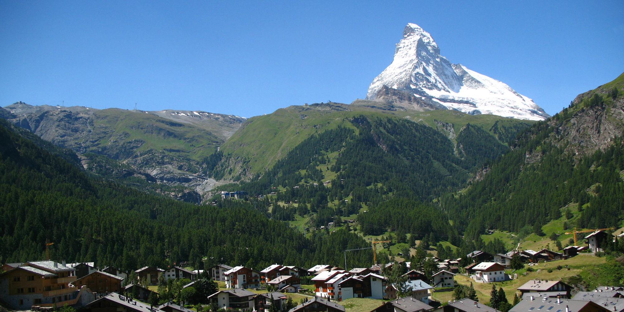 Tagesausflug nach Zermatt