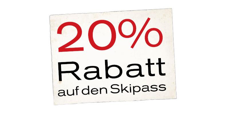20% Prozent Rabatt