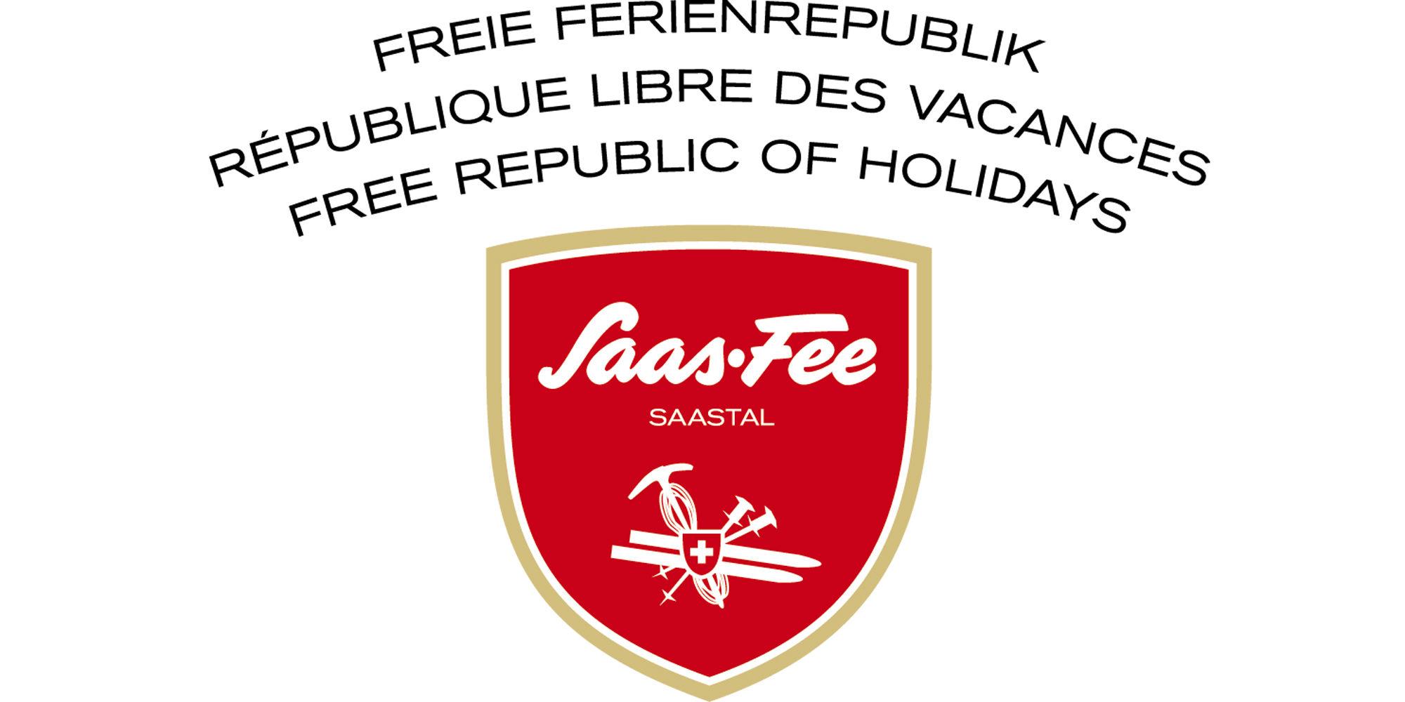 Logo Freie Ferienrepublik Saas-Fee
