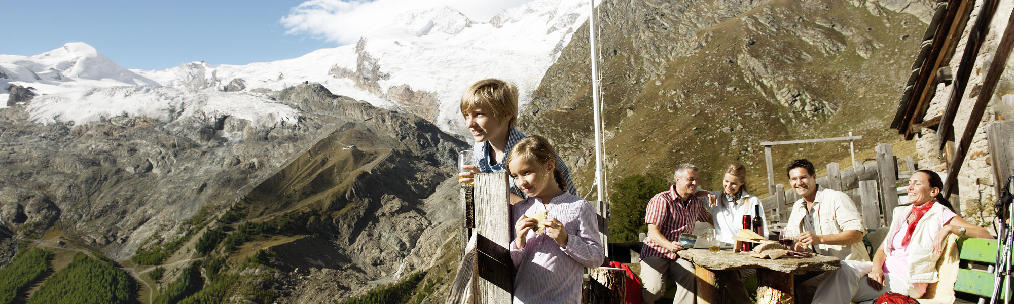Family trips in the Free Republic of Holidays Saas-Fee