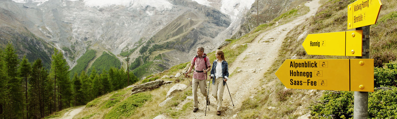 Hiking Tours in the Free Republic of Holidays Saas-Fee