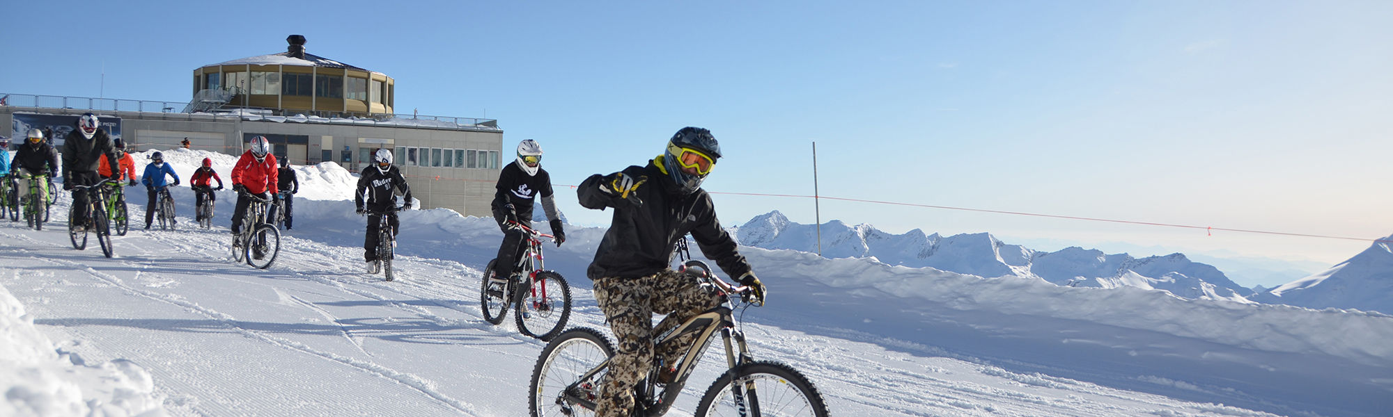 Glacier Bike Downhill Saas-Fee