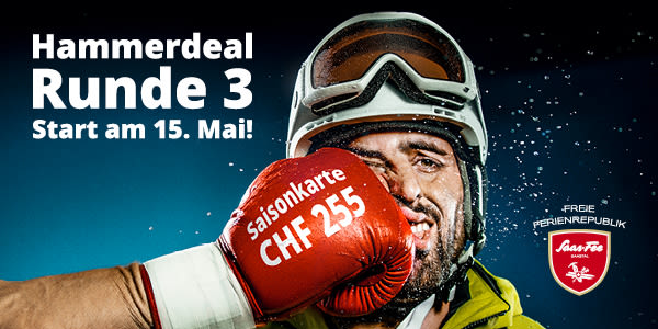 Hammerdeal Runde 3 Start am 15. Mai