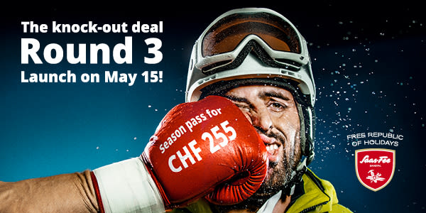The knock-out deal, Round 3, Launch on May 15!