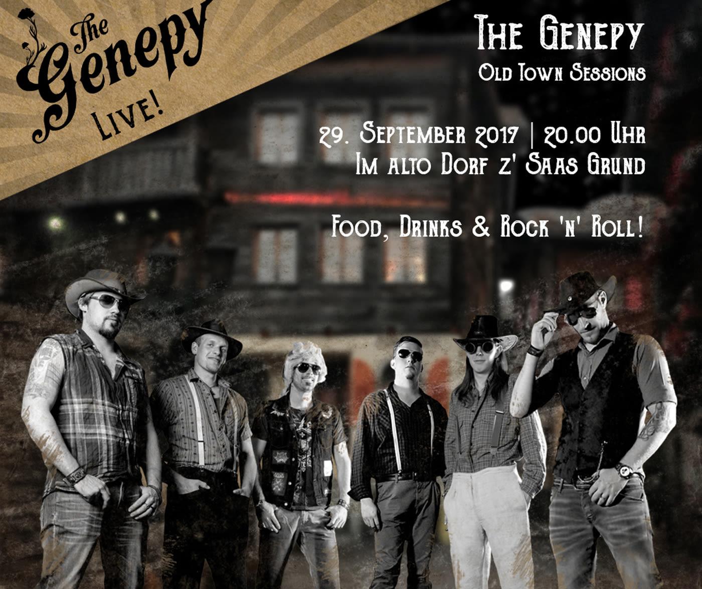 """Konzert The Genepy"""