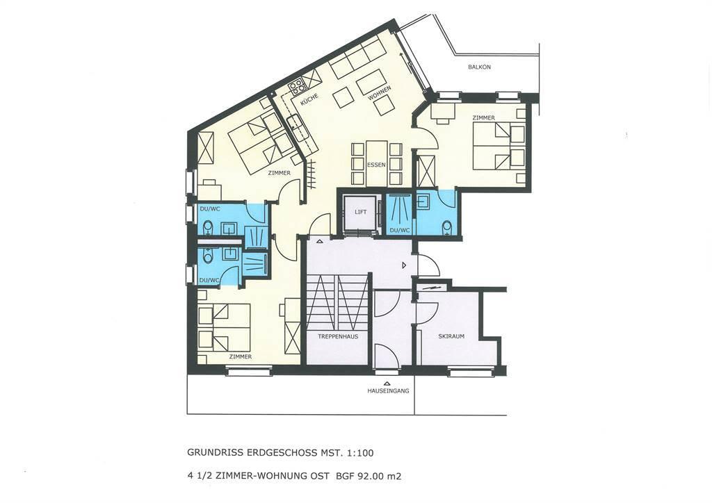 Haus Alpenrose EG Ost