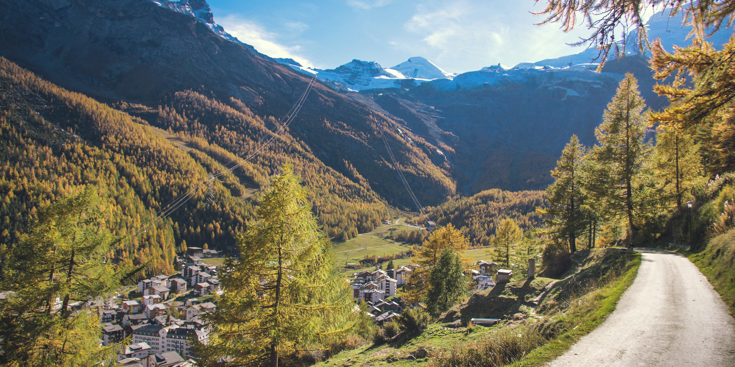 Indian summer in Saas-Fee - Free Republic of Holidays Saas-Fee