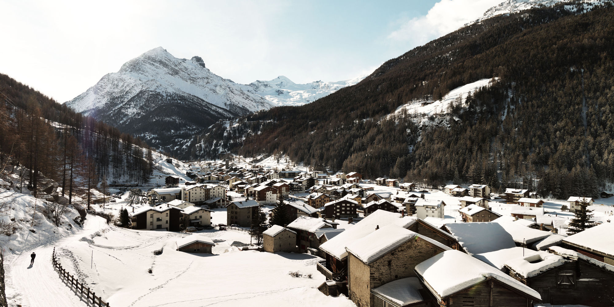 [Translate to Français:] Saas-Grund in der Freien Ferienrepublik Saas-Fee