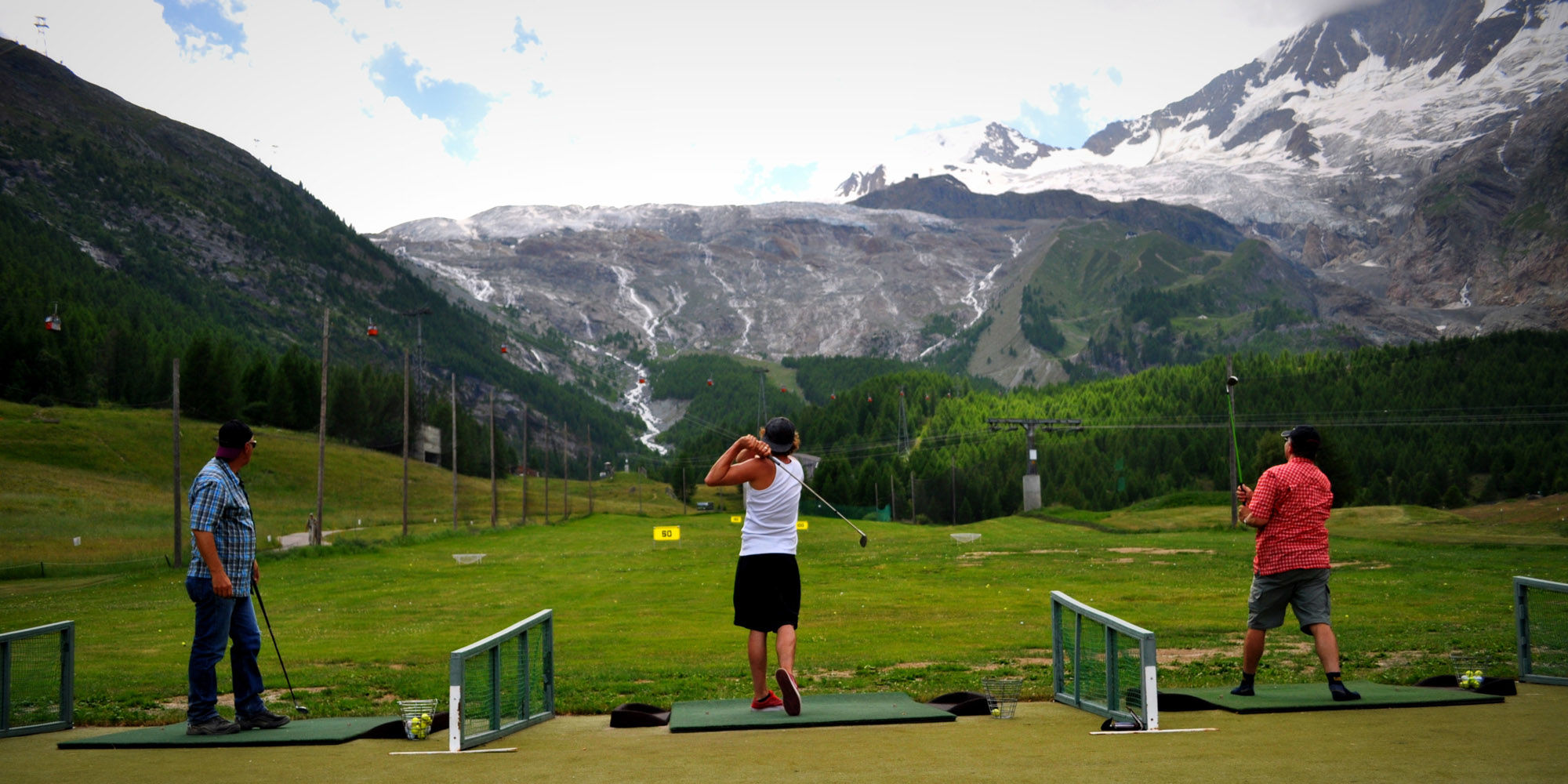 """Driving Range Saas-Fee"""