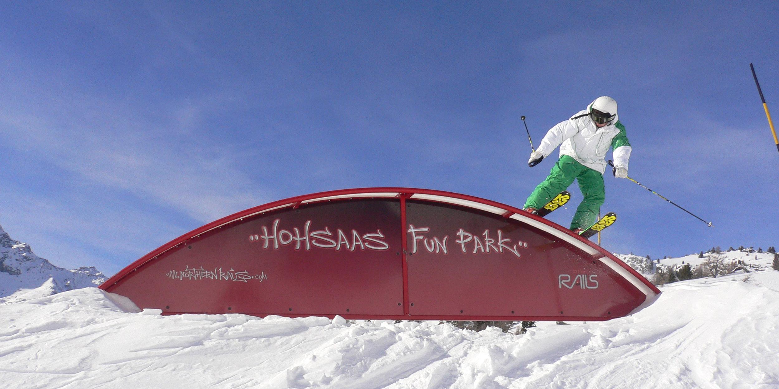 Funpark Hohsaas in der Freien Ferienrepublik Saas-Fee