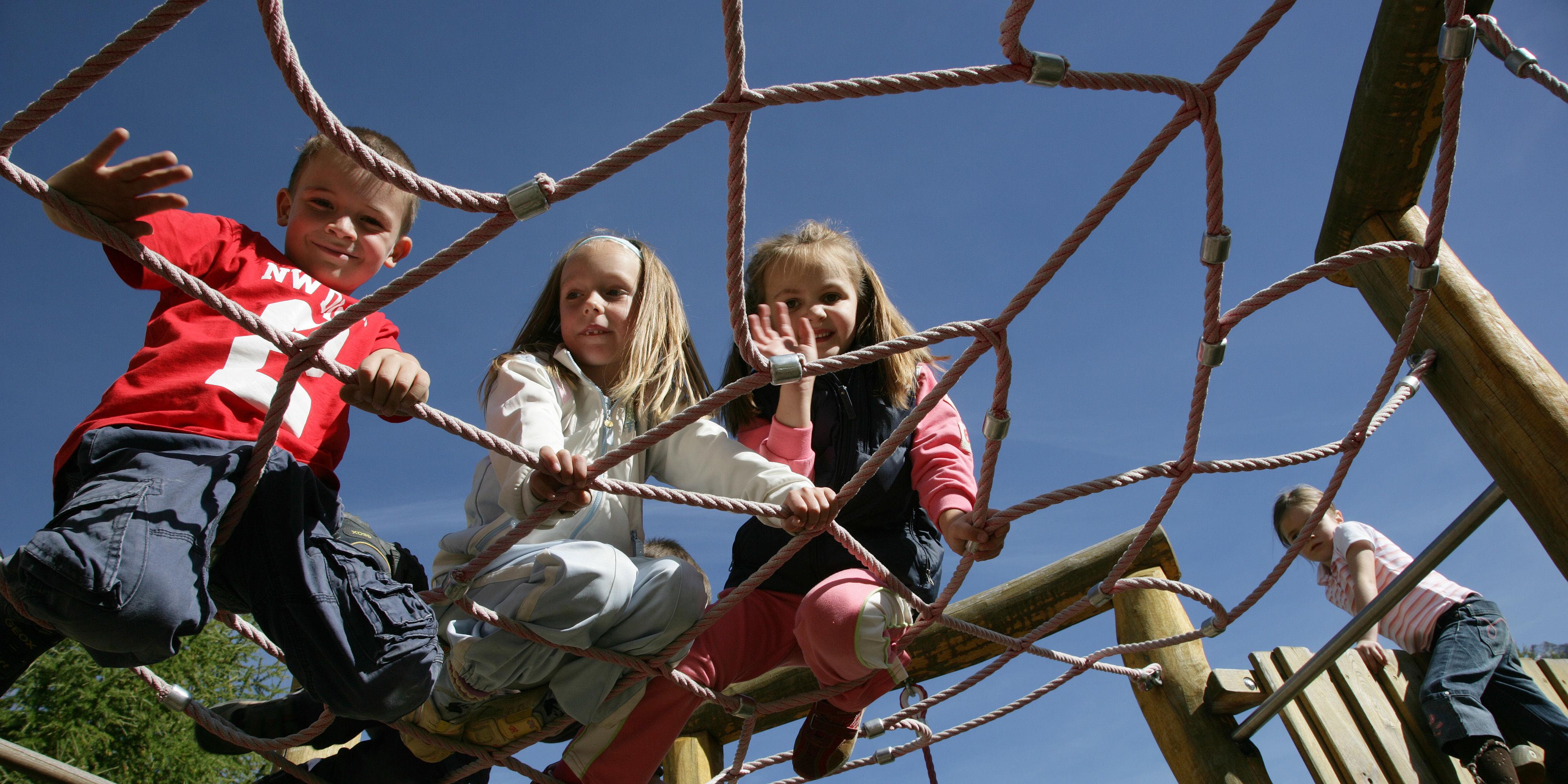 Kinderprogramm der Freien Ferienrepublik Saas-Fee
