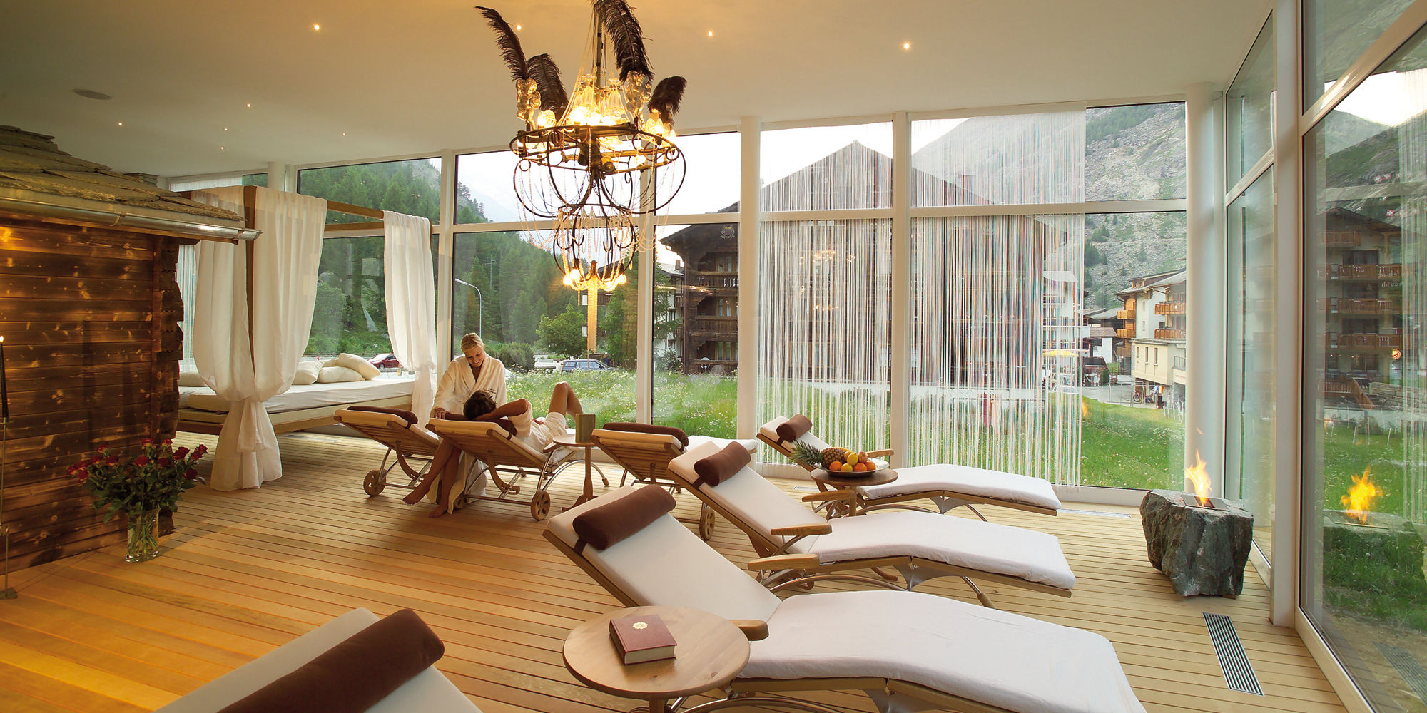 Wellness in der Freien Ferienrepublik Saas-Fee