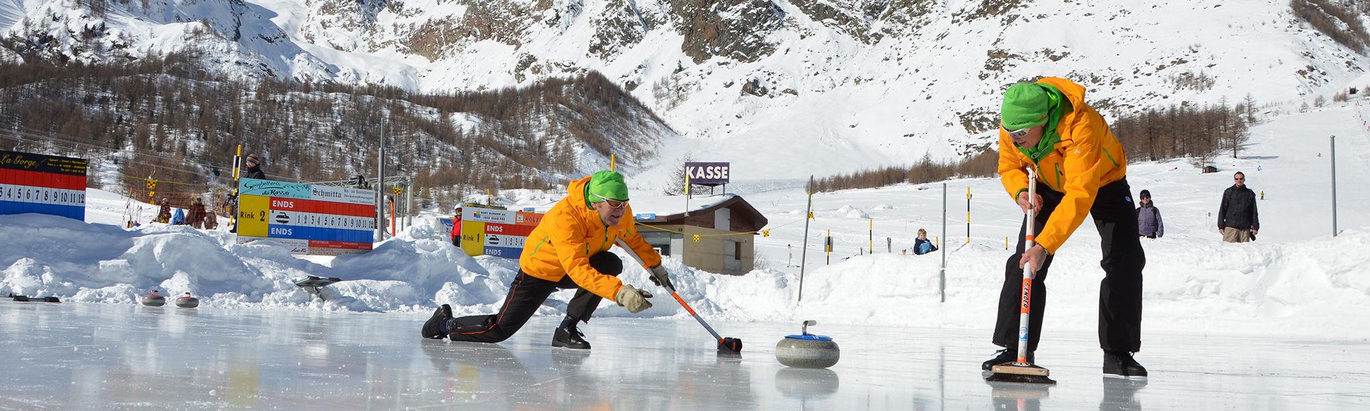 Sports d'hiver dans la République Libre des Vacances Saas-Fee