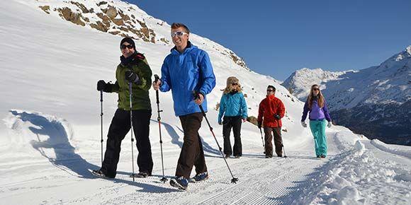 Winterwandern - Freie Ferienrepublik Saas-Fee