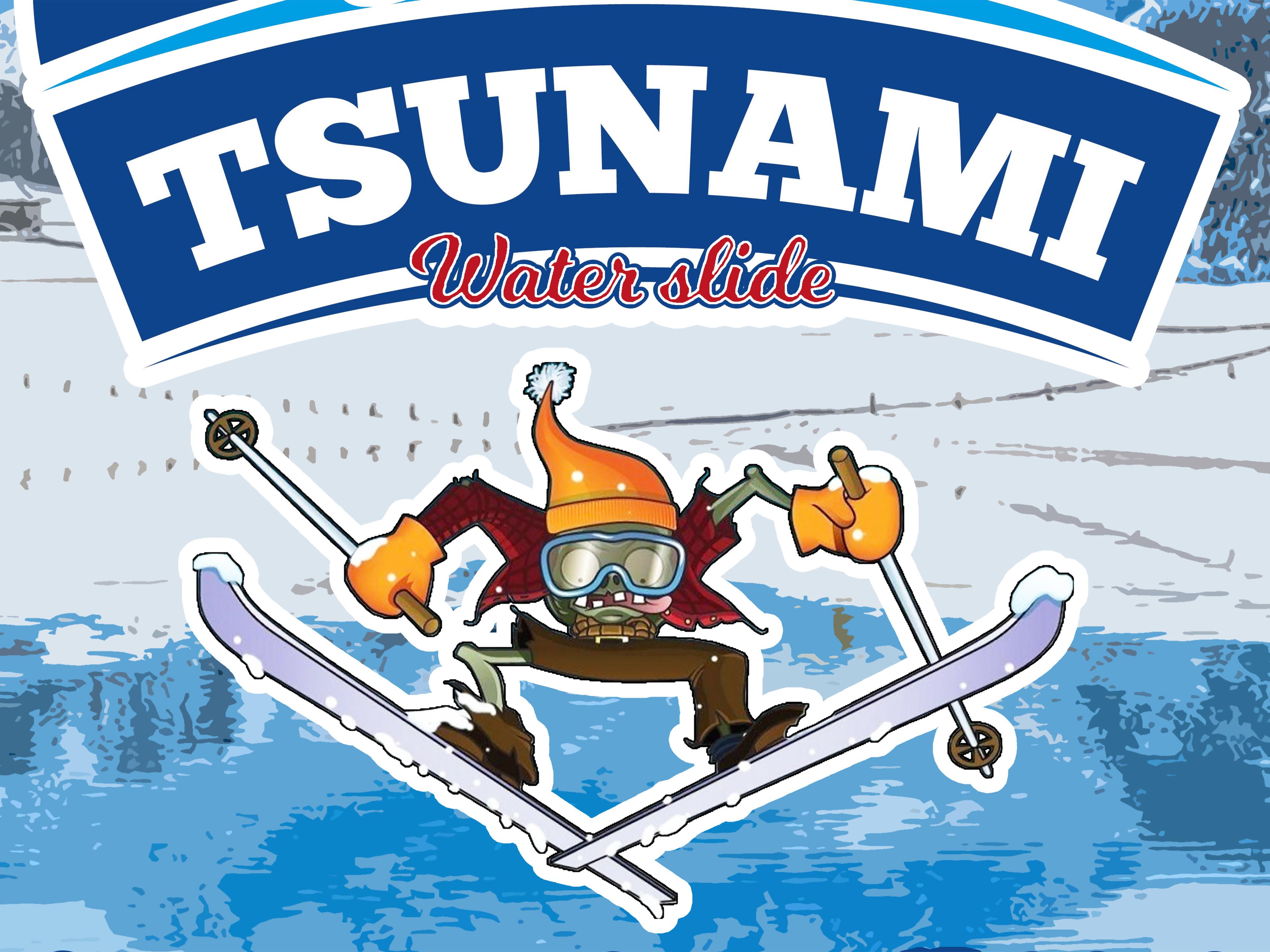 """""""Tsunami-Skier"""""""