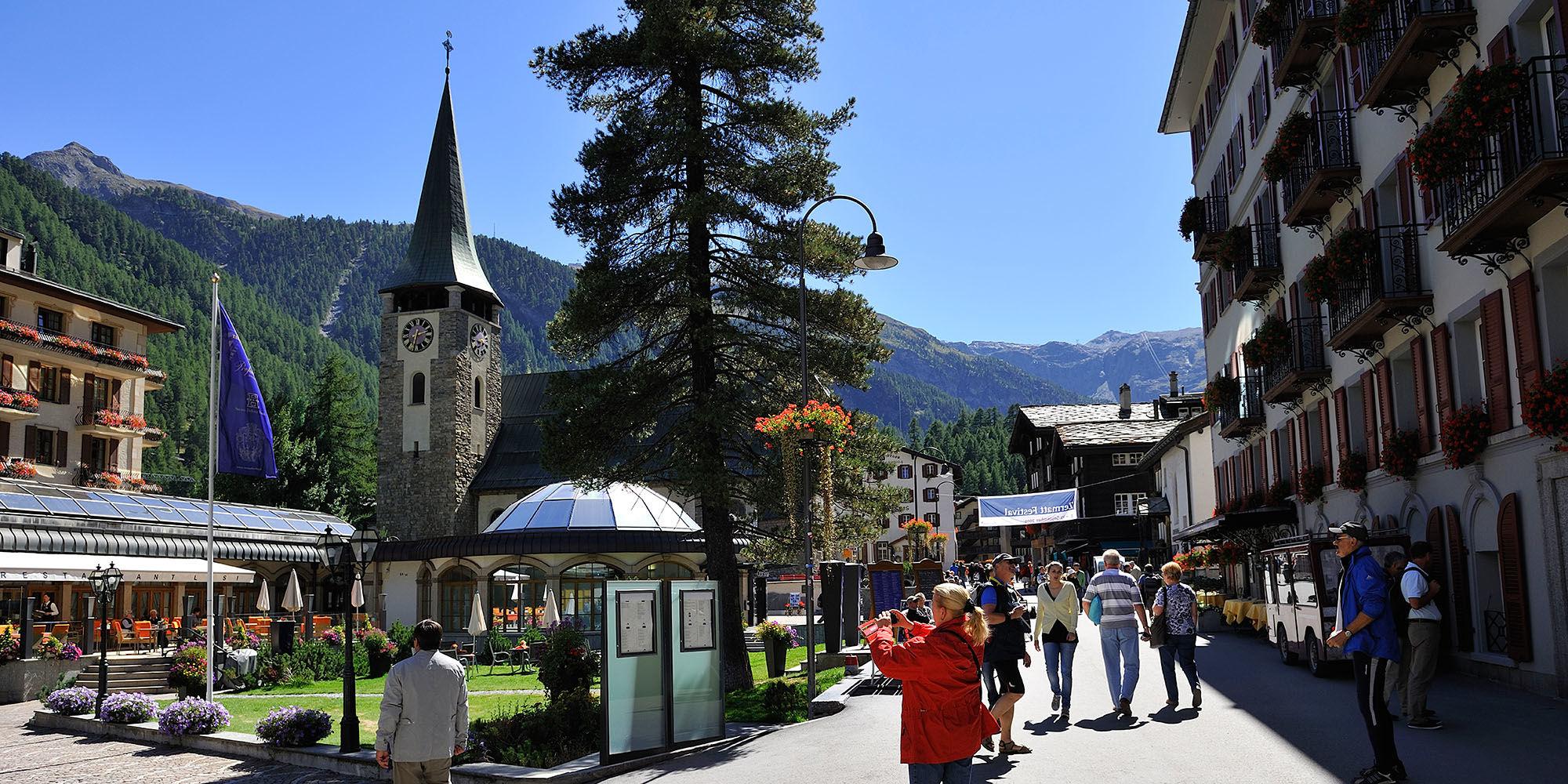 Zermatt Ort (c) Michael Portmann