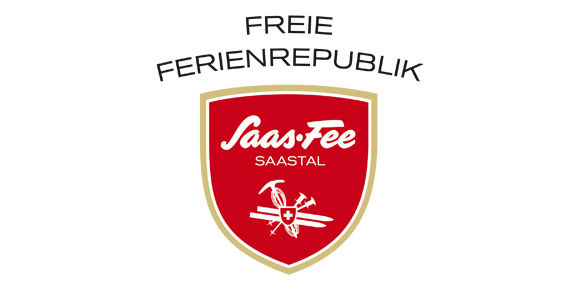 "[Translate to Français:] ""Freie Ferienrepublik Saas-Fee"""