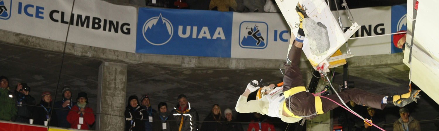 "[Translate to Français:] ""Ice Climbing World Cup"""