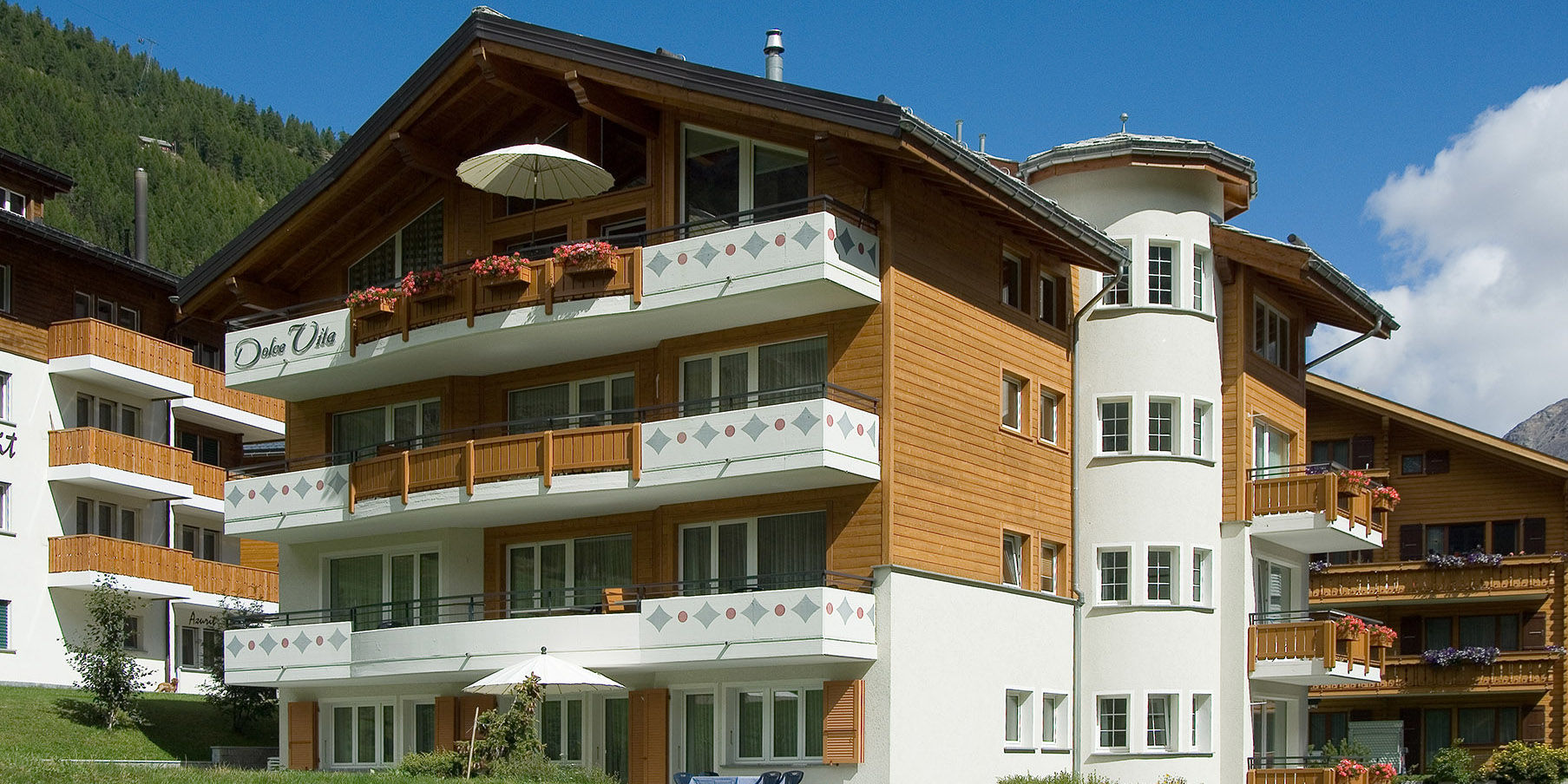 [Translate to English:] Alpine Wellness in der Freien Ferienrepublik Saas-Fee