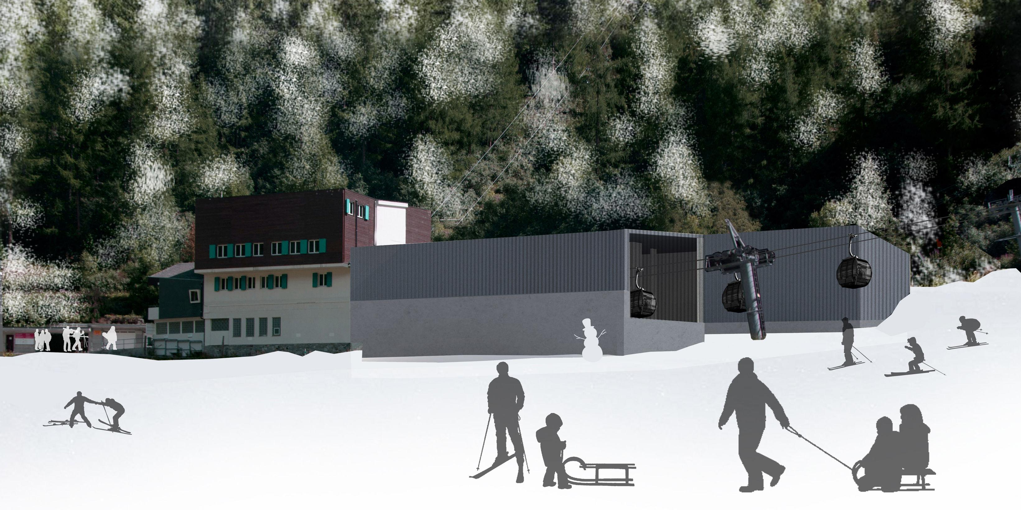 Neue Spielboden Bahn Freie Ferienrepublik Saas-Fee