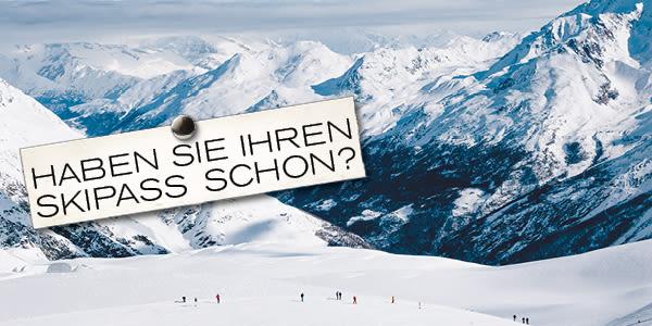 Haben Sie Ihren Skipass schon?