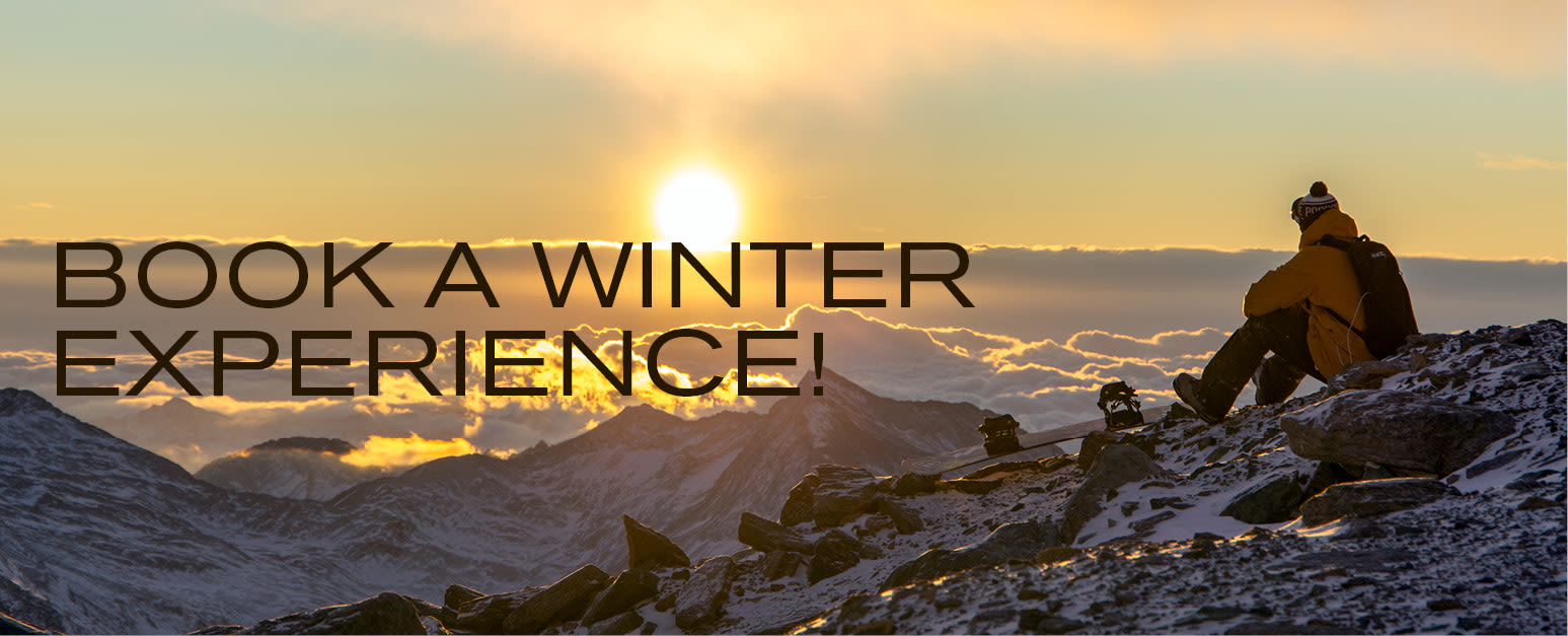 Book a winter experience