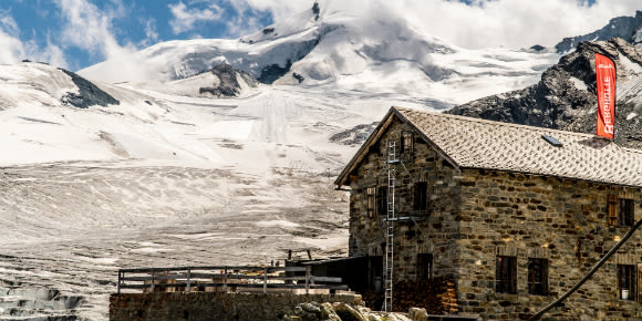Berghütte Längfluh