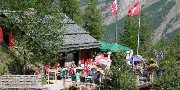 Bergrestaurant Gletschergrotte
