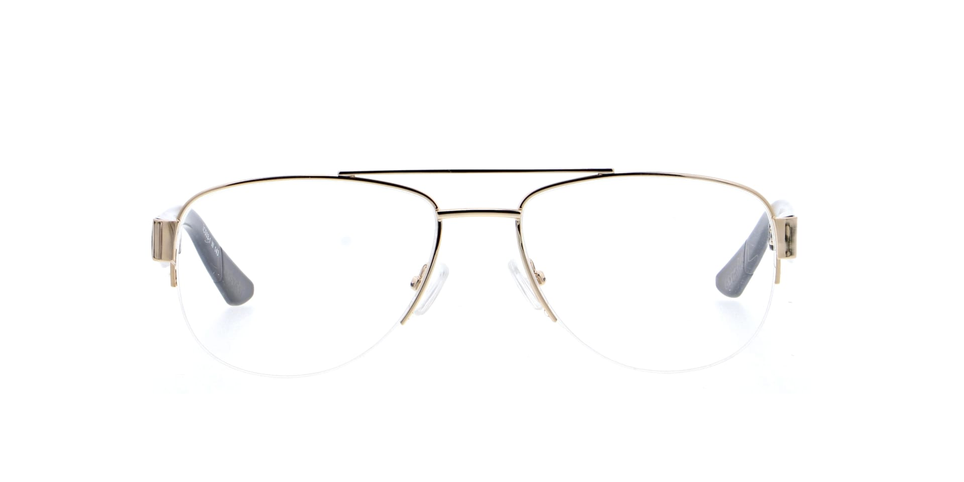 front facing picture of Malvern Gold ichoose glasses