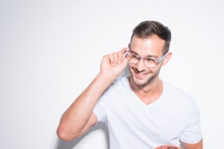 Clear Frame Glasses: Being Totally Transparent Is In