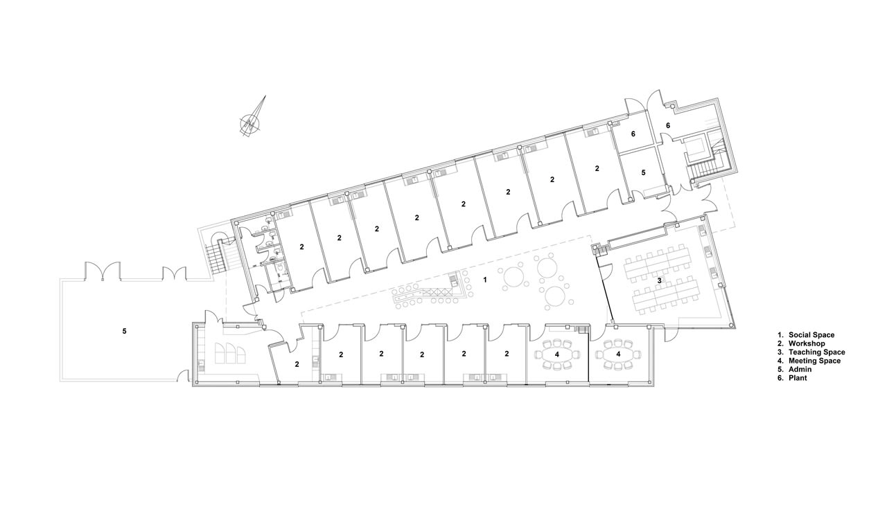 Architects Ireland - Creative Spark - van Dijk Architects