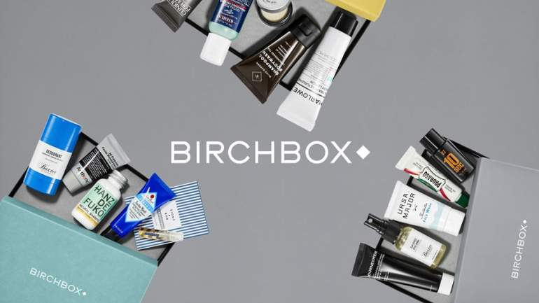 Rebdranded Birchbox grooming products