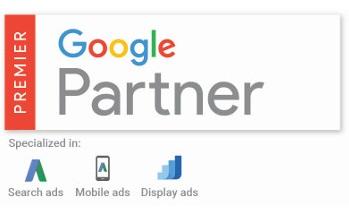 An image of the Premier Google Partner logo