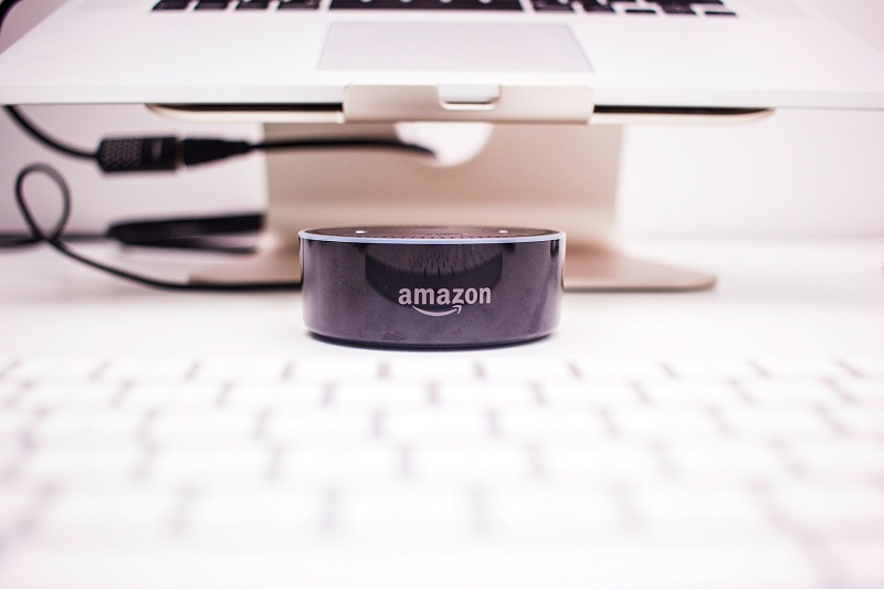 Photo of the Amazon Echo Dot