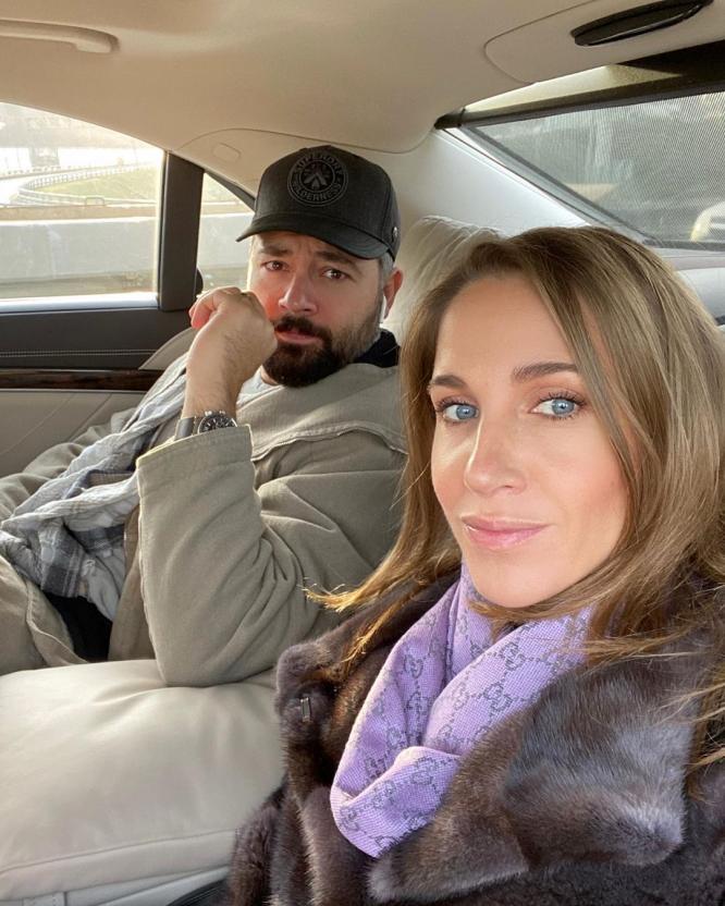 Юлия Ковальчук трогательно поздравила Алексея Чумакова с днем рождения