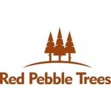 Red Pebble Trees Logo