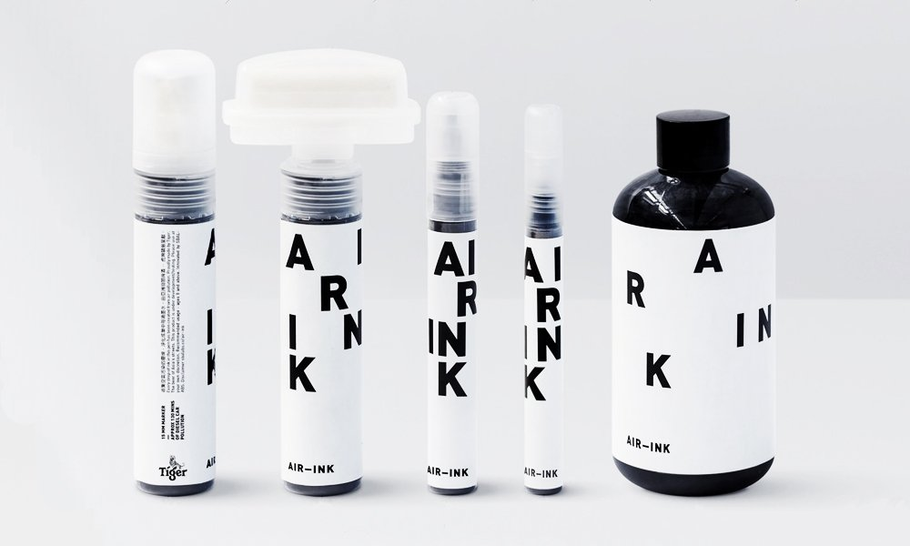 How air pollution can now be converted to ink