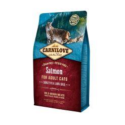 Carnilove Somon pentru pisici sensibile cu par lung fara cereale