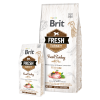 hrana uscata caini brit fresh fit and slim curcan si mazare