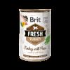 coonserva pentru caini Brit Fresh Turkey with Peas