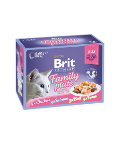 Brit Premium Cat Multipack Delicate Family Plate in Jelly