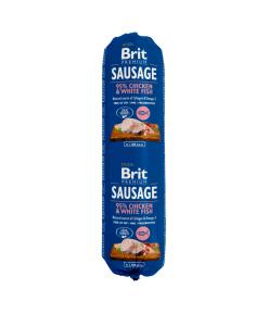 Salam Brit Premium cu Pui si Peste Alb